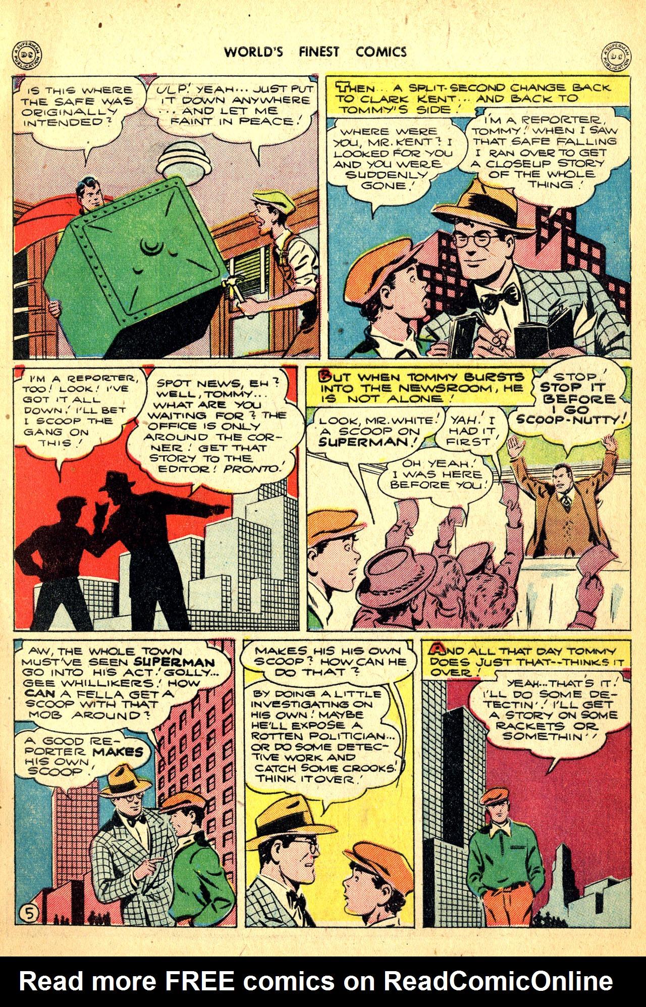 Read online World's Finest Comics comic -  Issue #18 - 7