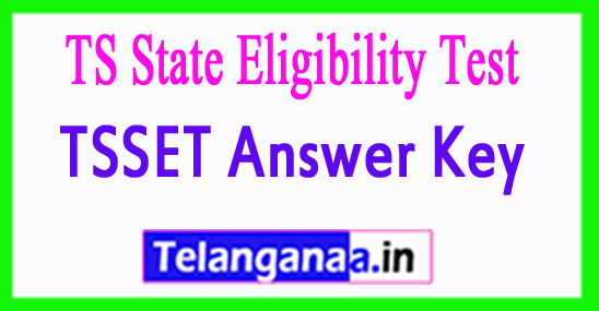 TSSET Answer Key  2018 Download Telangana