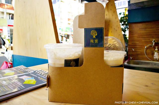 IMG 2457 - 台中西區│瑰蜜。黑沃咖啡最新品牌聯名款。除了特調、歐蕾、手沖咖啡,也有果昔可以選擇唷