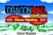 لعبة مغامرات و قتال غوغو من انمي دراغون بول Dragon Ball Z Fierce Fighting 1.1