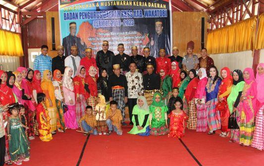 Wabup Kep. Selayar Dan Kab.Wakatobi, Hadiri Pengukuhan Pengurus KKSS