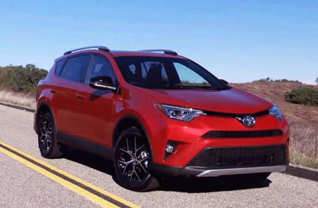 2018 Toyota Rav4 Spy Shots