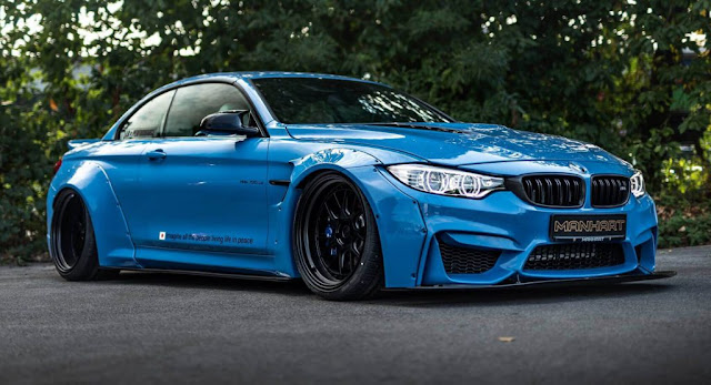 BMW, BMW M4, Manhart, Tuning