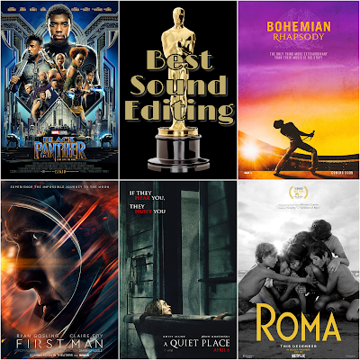 Best Sound Editing 2019 Academy Awards