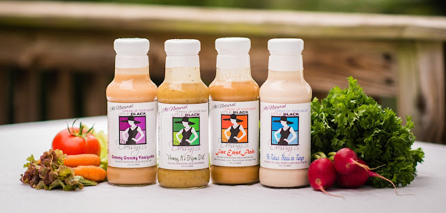 Little Black Dressing Company has delicious NC Made Salad Dressings that are great for salads and recipes