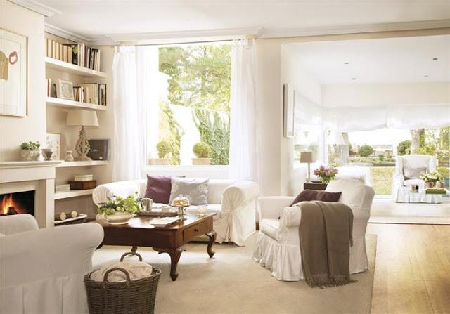 Good morning style salones de verano for Salones acogedores
