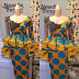 Creative Ankara Fashion Styles: Skirt and Blouse Dresses for Fashionable Ladies 2020