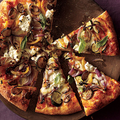 Pizza, Of Course. To Up The Nutritional Value, Make It A Vegetarian Pie  With Caramelized Roasted Vegetables And Creamy Ricotta And Mozzarella  Cheese, ...