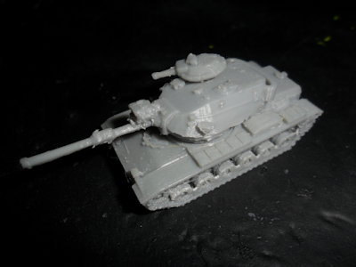 M60A1 with searchlight and smoke dischargers