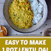 Easy To Make 1 Pot Lentil Dal (Vegan & Gluten Free)