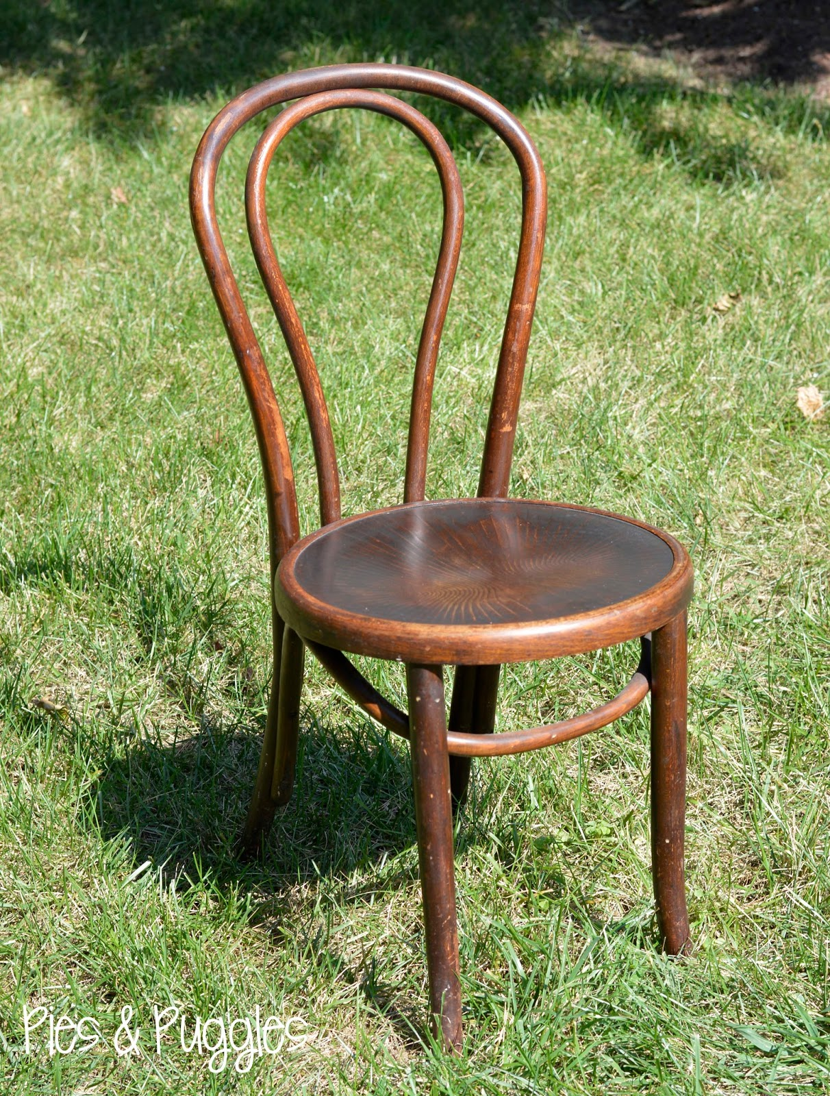 Vintage Bentwood Chairs Office Chair Under 2000 Pies And Puggles Diy Painted