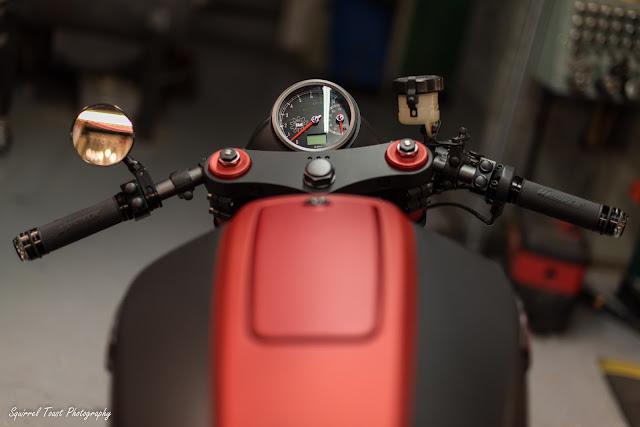 Honda CB750 1992 By Industrial Moto Hell Kustom