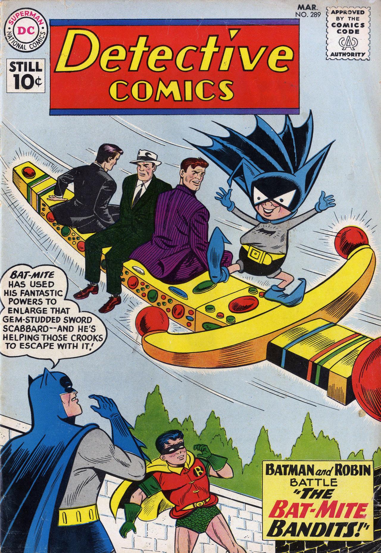 Detective Comics (1937) 289 Page 1