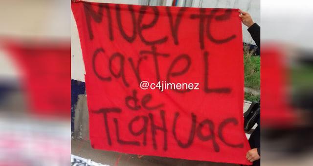 Tras amenaza y manta van por la cabeza de integrantes del Cártel de Tláhuac