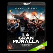 La gran muralla (2016) HC HDRip 720p Audio Bilingue Chino-Ingles 2.0 Subtitulada