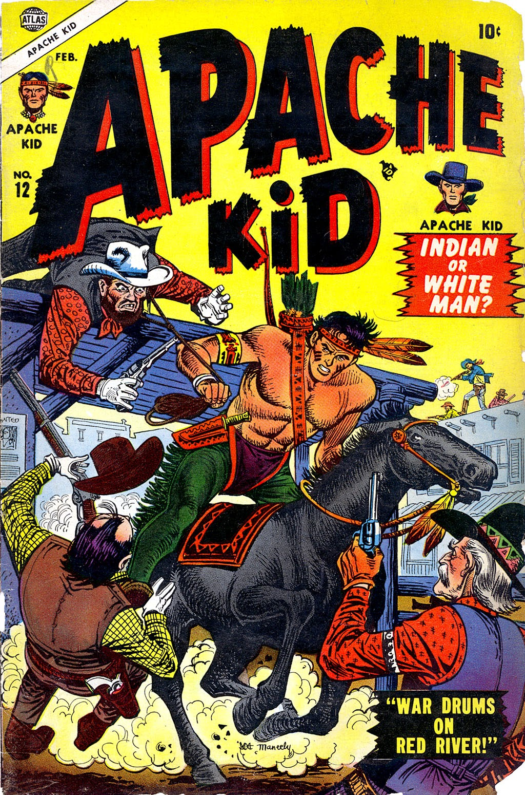 Apache Kid issue 12 - Page 1