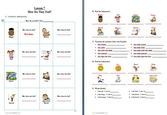 Materi Bahasa Inggris Kelas 2 Sd Pdf