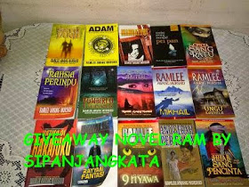 second, giveaway, Ramli, Awang, Murshid, sipanjangkata, contest, novel, melayu