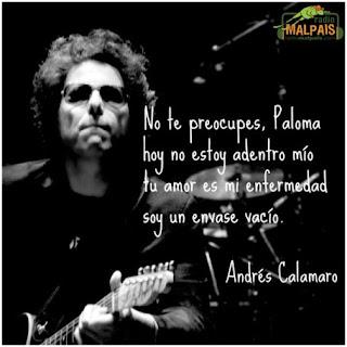 Andrés Calamaro. Paloma