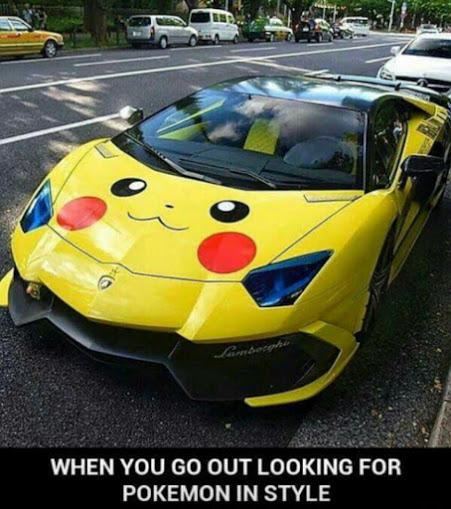 The Perfect Pokemon Go Car