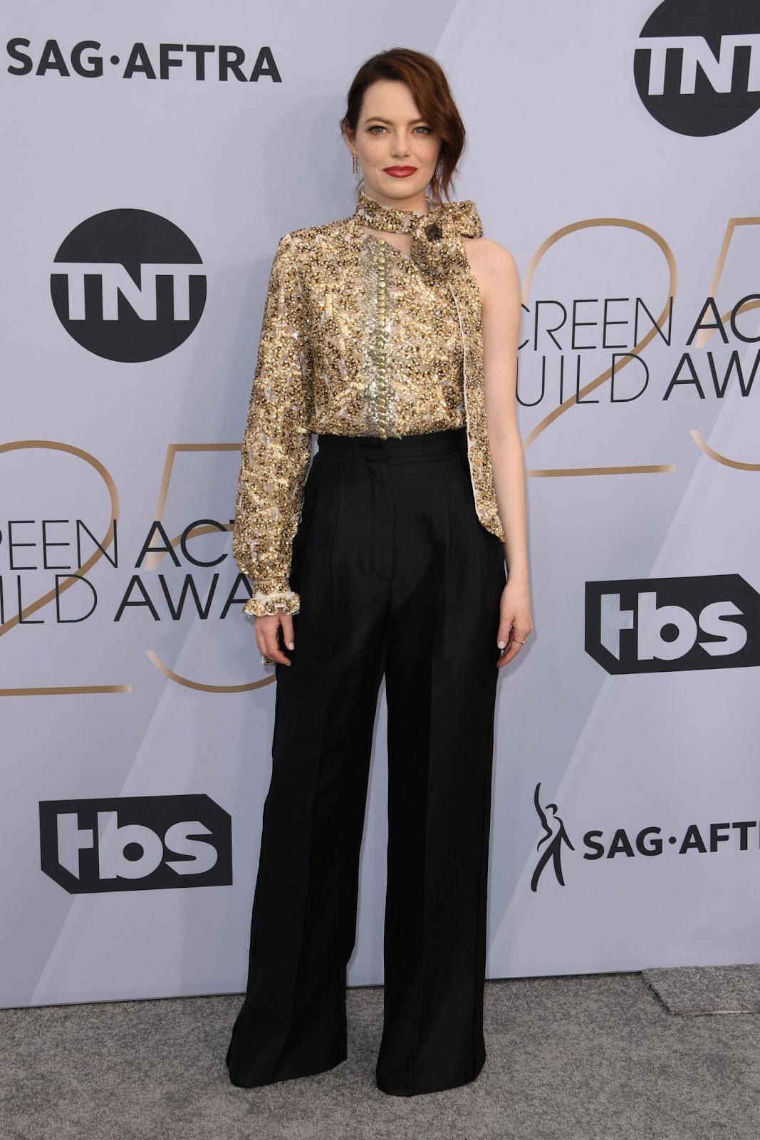 Emma Stone - 25th Annual Screen Actor's Guild Awards in LA - 01/27/2019