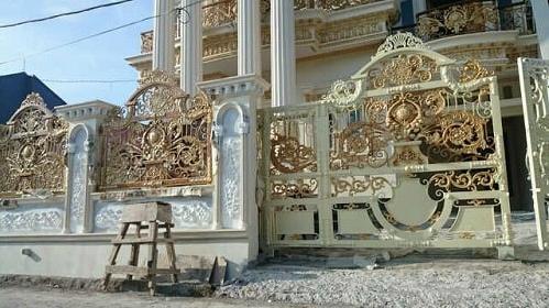 Koleksi Gambar Desain Pagar Rumah Mewah