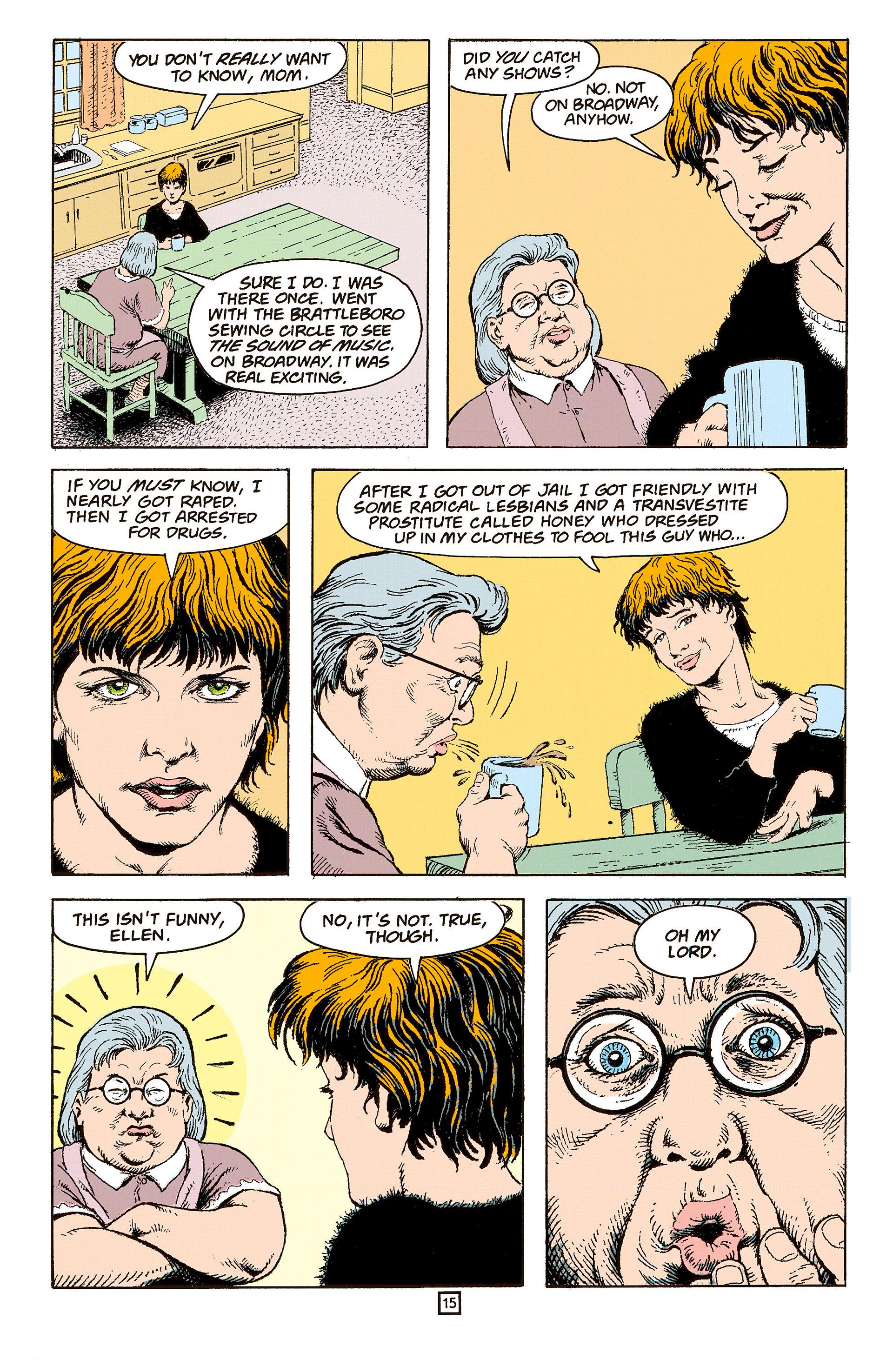 Read online Animal Man (1988) comic -  Issue #60 - 16