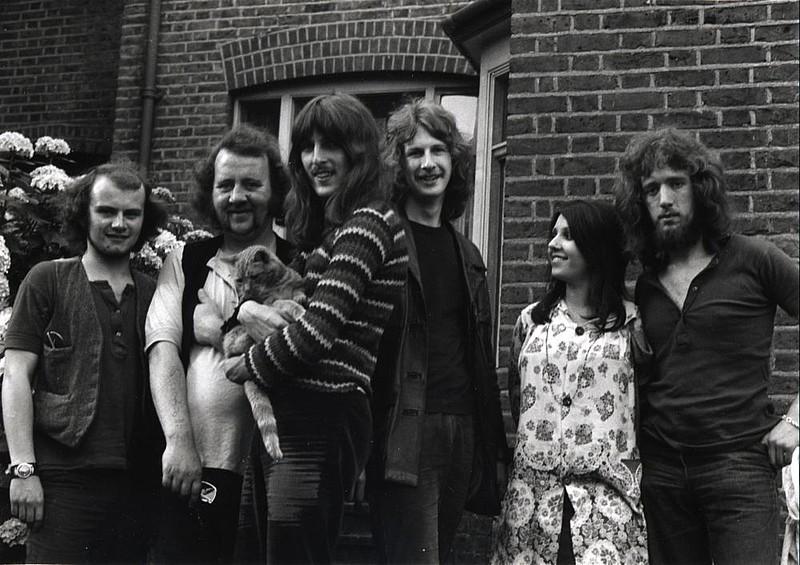 Fotografía original de Incredible Hog por 1970.