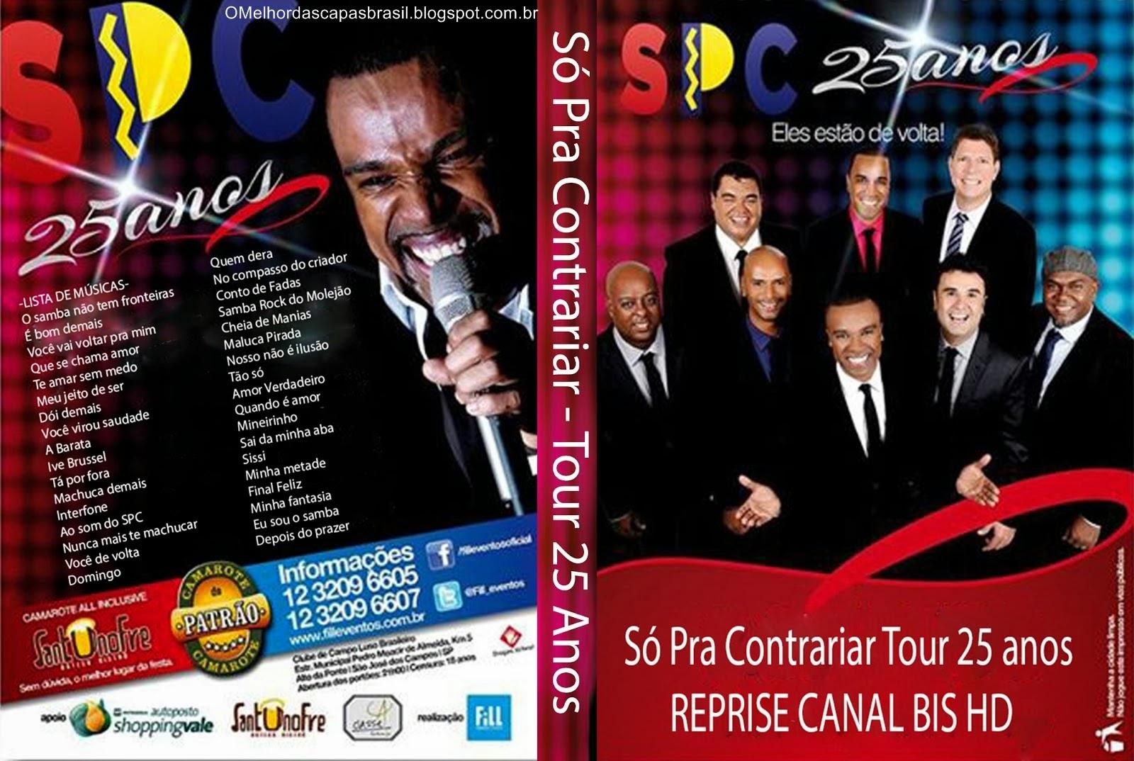DVD Só Pra Contrariar – Tour 25 Anos HDTV 2013