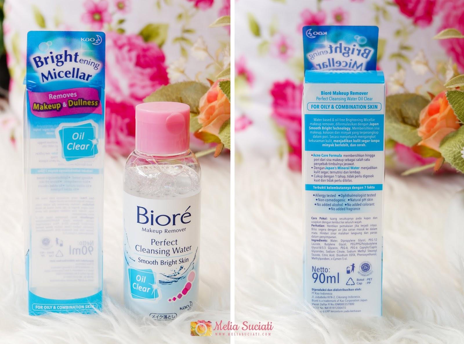 micellar water Biore