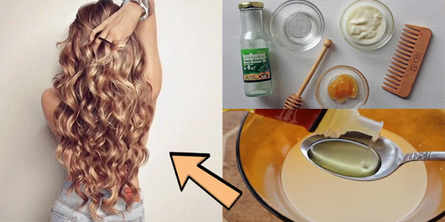 DIY - Hair Mask For Damaged Hair, Frizzy Hair, And Hair Growth