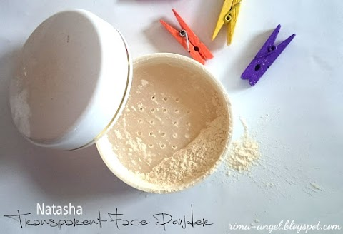 Review Natasha Transparent Face Powder