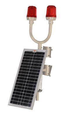 güneş enerjili uçak ikaz lambası