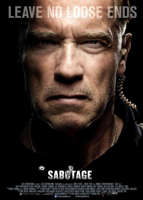 Poster pentru filmul De Acţiune SABOTAGE