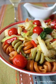 Паста със зеленчуци