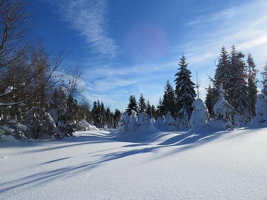 Zimowa aura.