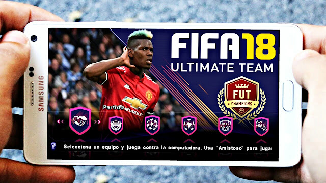 Download FIFA 18 MOD PES 2018 Android Offline 550 MB HD Graphics