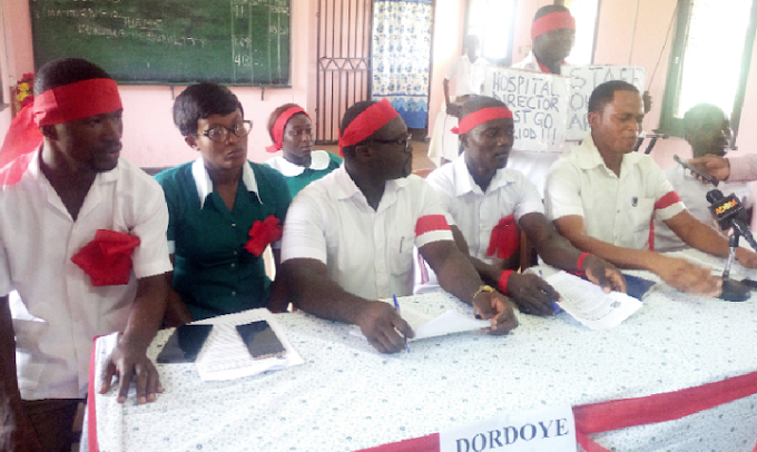 Ankaful Nurses abandon patients; begin sit down strike