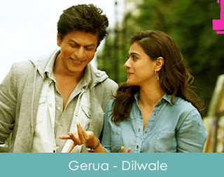 Gerua Piano Notes from Dilwale