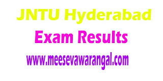 JNTU Hyderabad B.Tech 1st Year Supply (R09) 2016 Exam Results