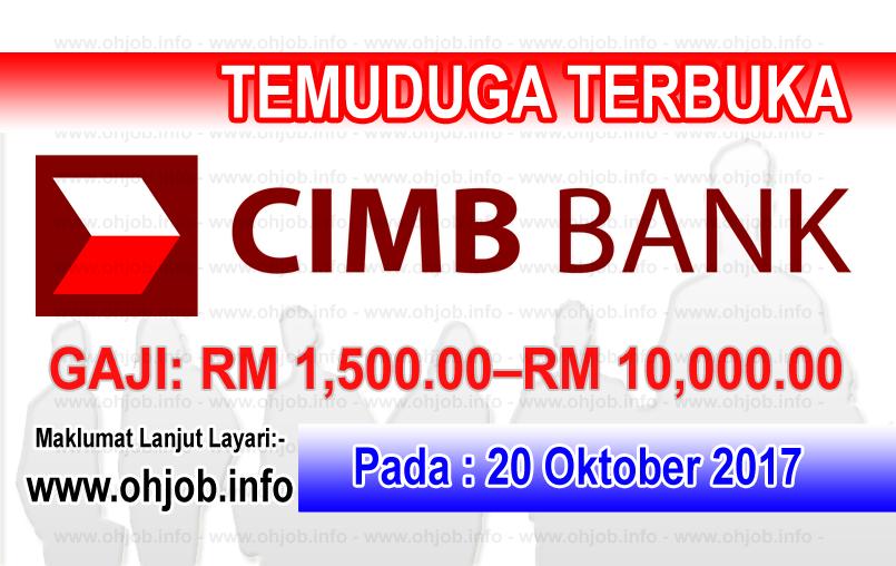 Jawatan Kerja Kosong CIMB Group logo wwww.ohjob.info oktober 2017