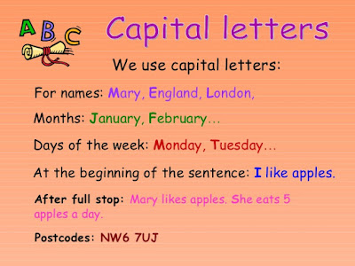 Use of Capital Letters