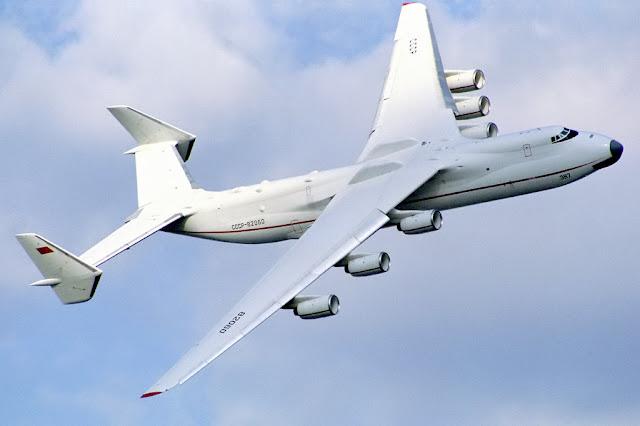 Pesawat Antonov An-225 Mriya pesawat cargo terbesar di dunia