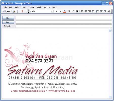 Make good use of E-Mail signature Vibin Narayanan Marketing Ideas-----
