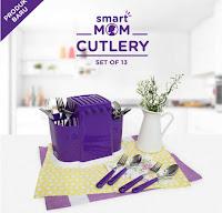 Dusdusan Smart Mom Cutlery Set of 13 ANDHIMIND