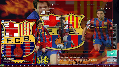 THEME BARCELONA FOR WINDOWS 7 GLASS