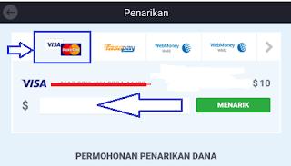 cara mengambil uang dari iq option