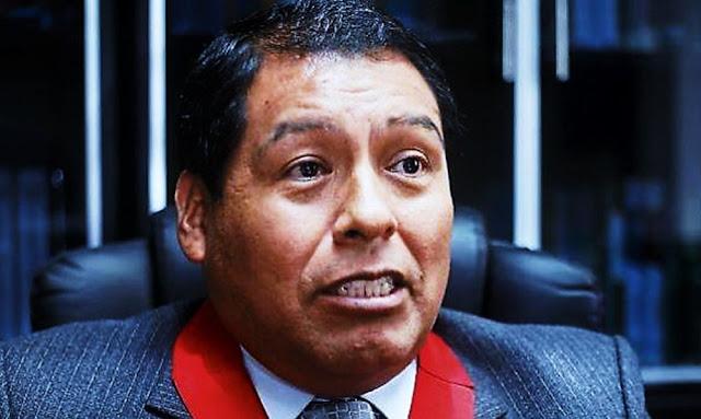 ¿Quién es la juez Cesar Sahuanay '?