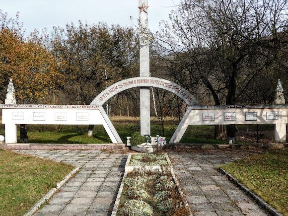 Гірські села Закарпаття: Плоске. Військовий меморіал