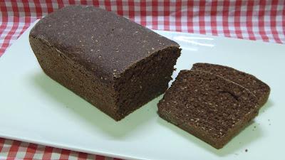 Receta fácil de pan integral vegano al cacao